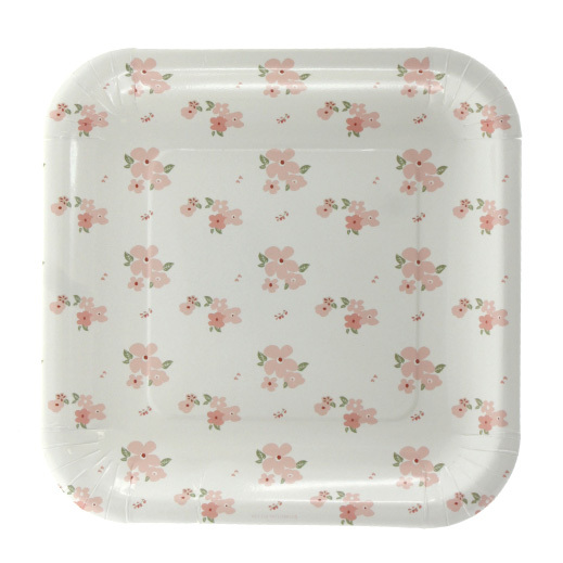 Sambellina floral party plates - Hip and Hooray  sc 1 st  Life\u0027s Little Celebrations & Floral Party Supplies - Lifes Little Celebration
