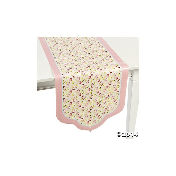 Floral table runner - Just Party Supplies