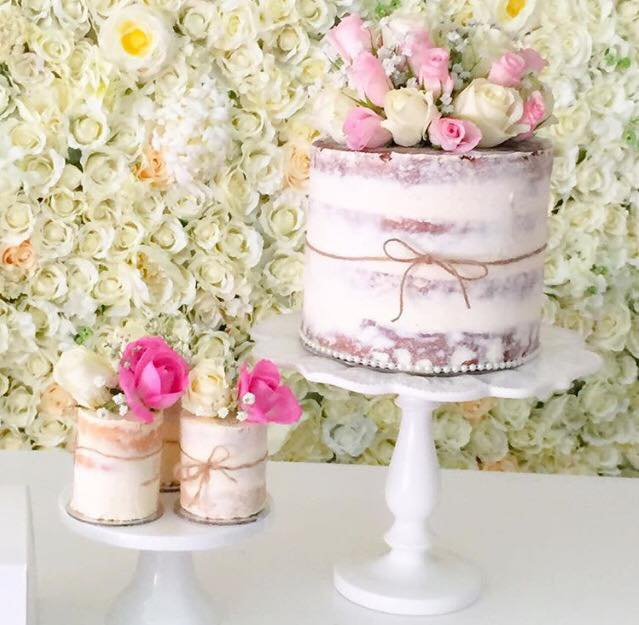 Rustic floral cake and desserts - Sweets with Love (Sydney)