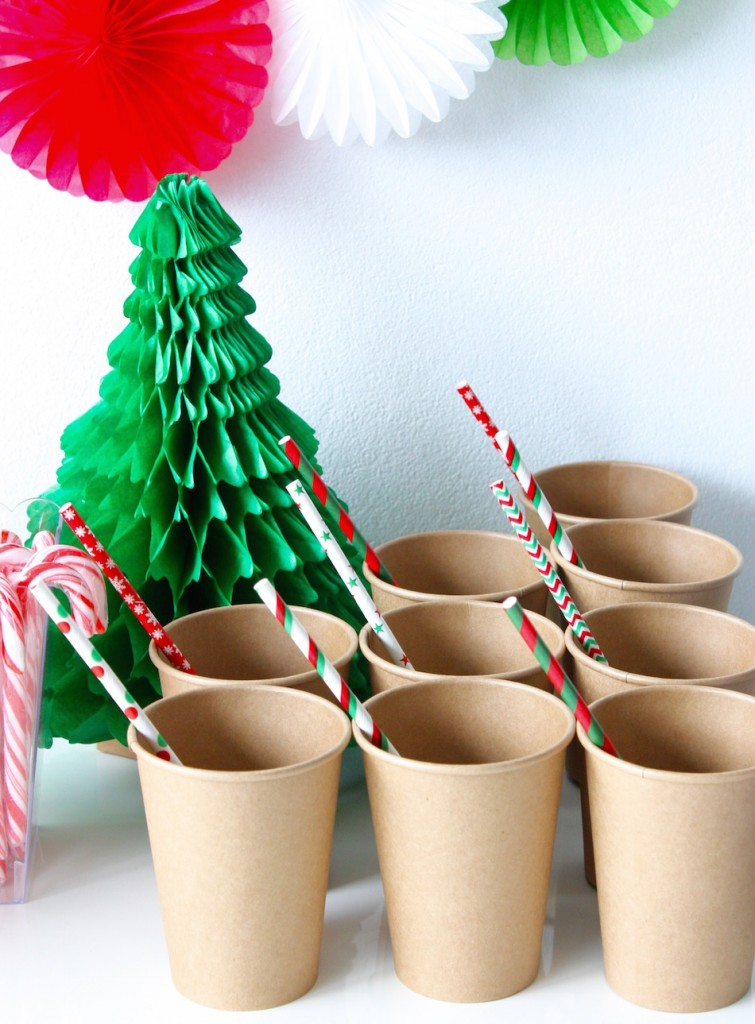 Brown kraft paper cups, set of 20, $6.99 - Style Party Love