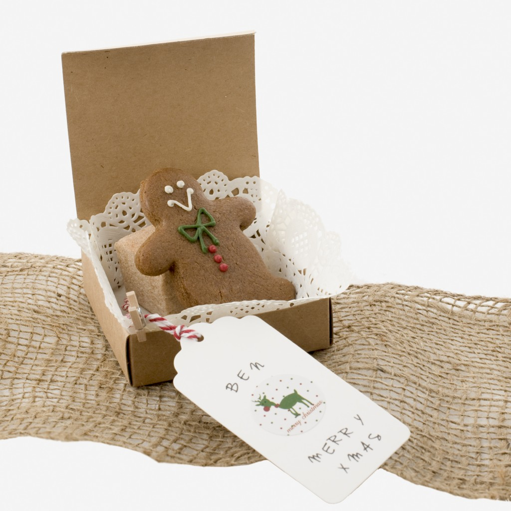 Christmas brown kraft favour box, set of 25, $16 - Style Party Love