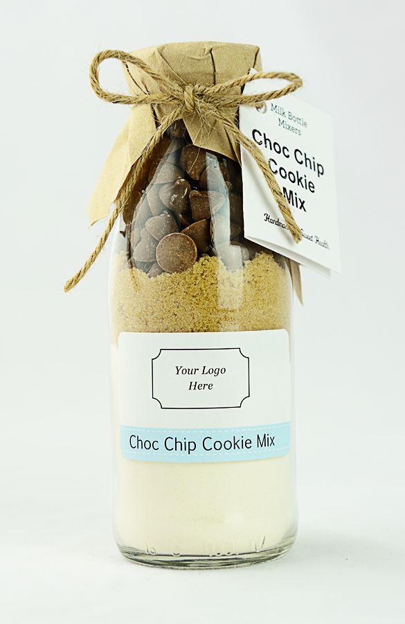 Corporate cookie mix bottle