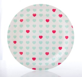 Sweetheart plates - Love The Occasion