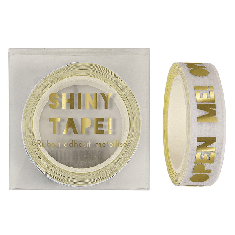 Open Me Glitter tape, $9.99 - Style Party Love