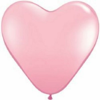 Pink heart balloon - Ruby Rabbit Partyware
