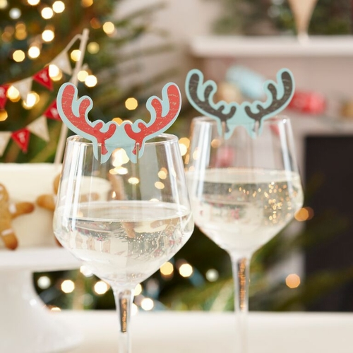 Antlers on glass, pack of 10, $6 - Confectionately Yours