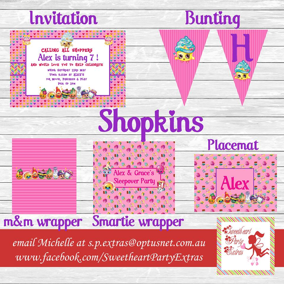 graphic regarding Free Printable Shopkins Invitations known as Shopkins bash components Archives - Lifes Very little Occasion