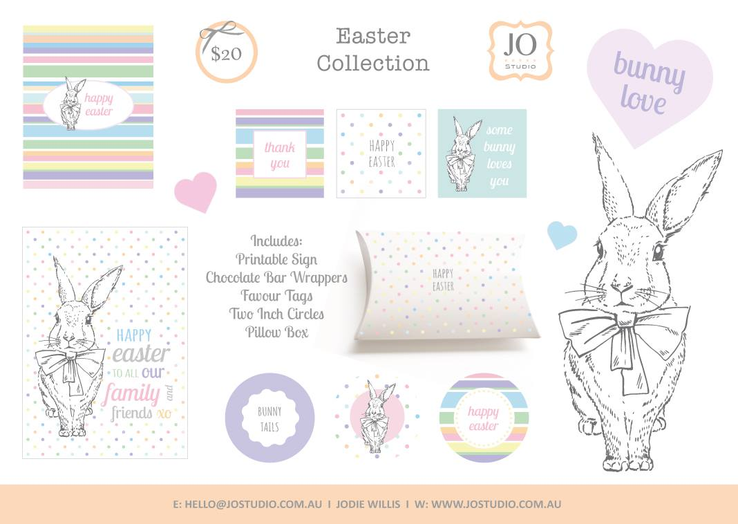 Easter printables - Jo Studio
