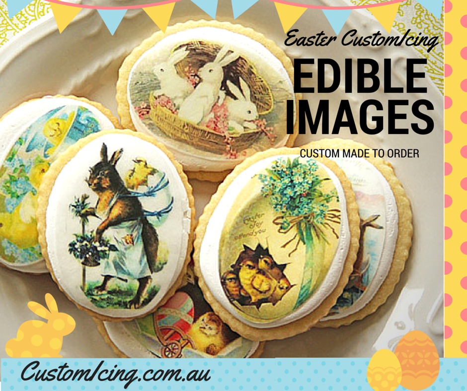 Easter Edible images - Custom Icing
