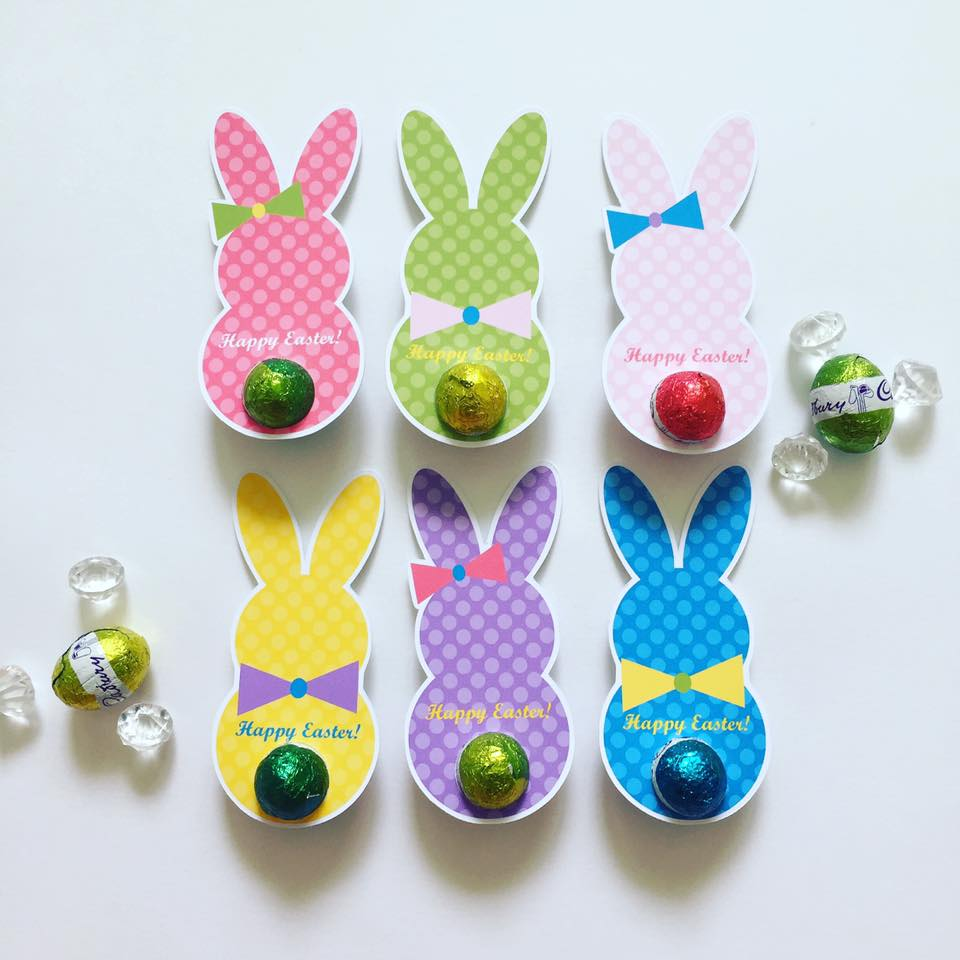 Easter gift stationery - Glitter and Glue Designs