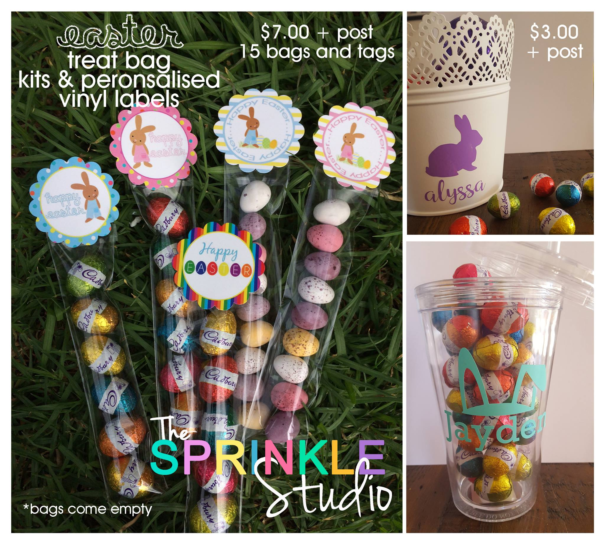 Easter gift stationery - The Sprinkle Studio