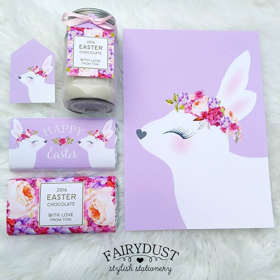 Easter printables - Fairydust Stylish Stationery