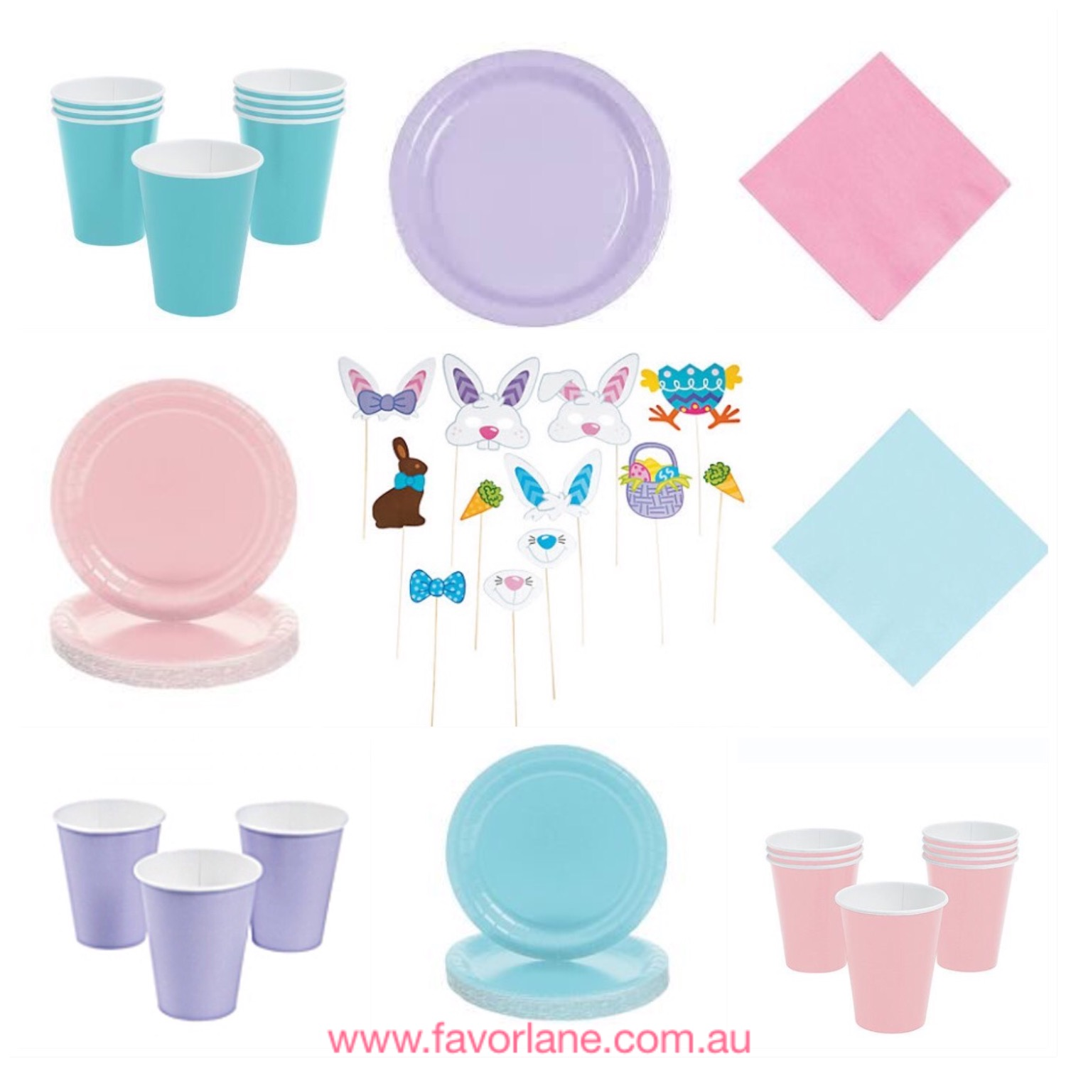 Easter partyware - Favor Lane