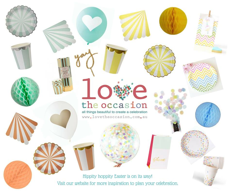Easter partyware - Love The Occasion