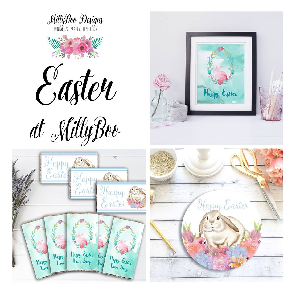 Easter printables - Millyboo Designs