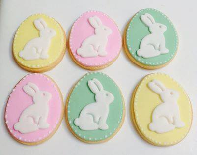 Easter cookies - One Sweet Chick Couture Cookies and Cake (Sydney)