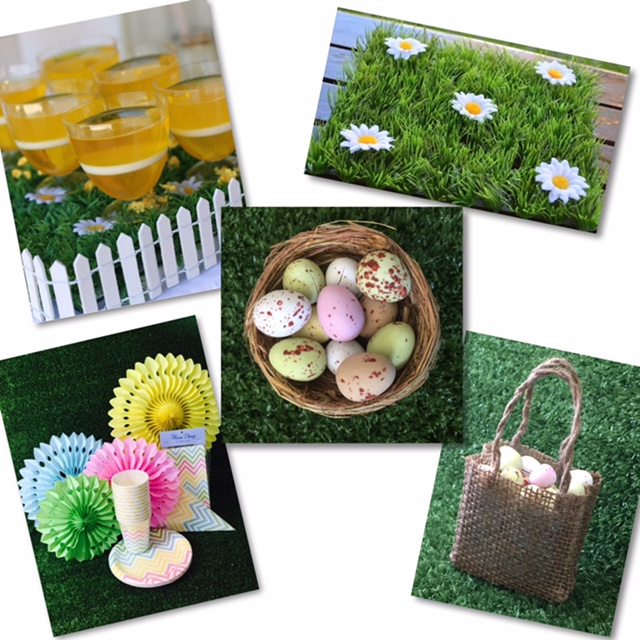 Easter partyware - Saffy and May