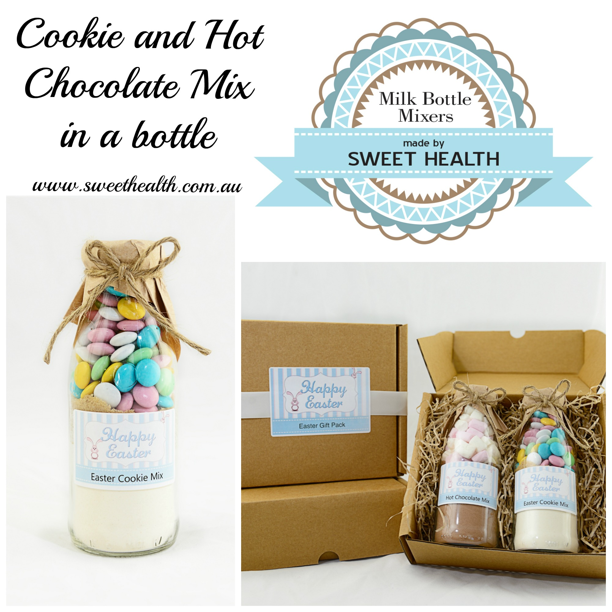 Easter cookie mix gifts - Sweet Health