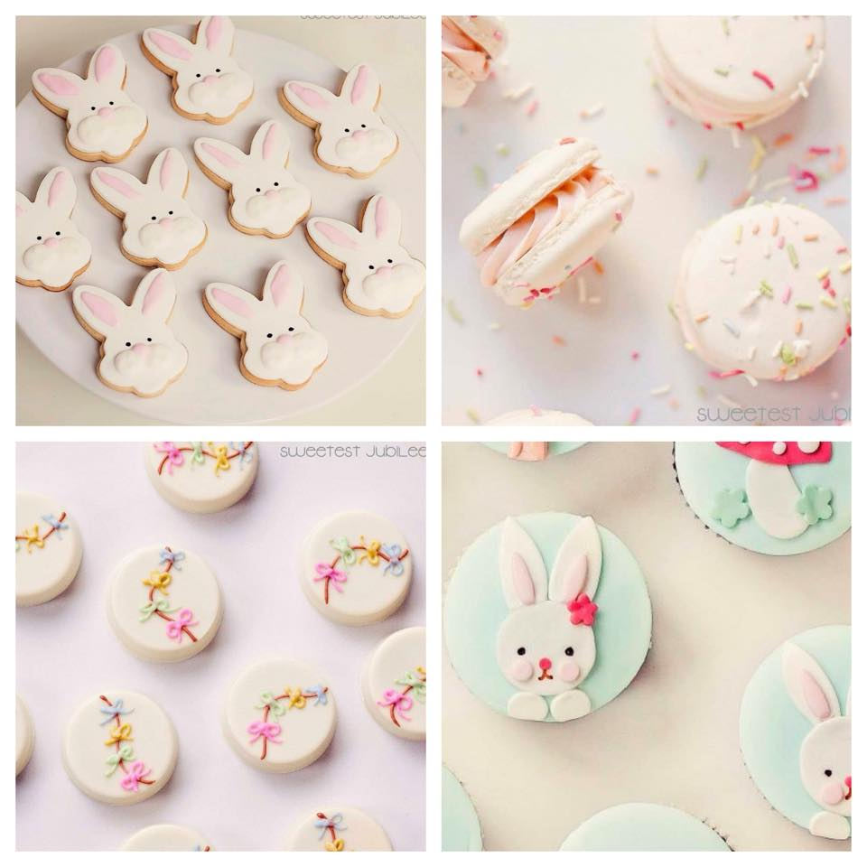 Easter cookies and macarons - Sweetest Jubilee (Melbourne)