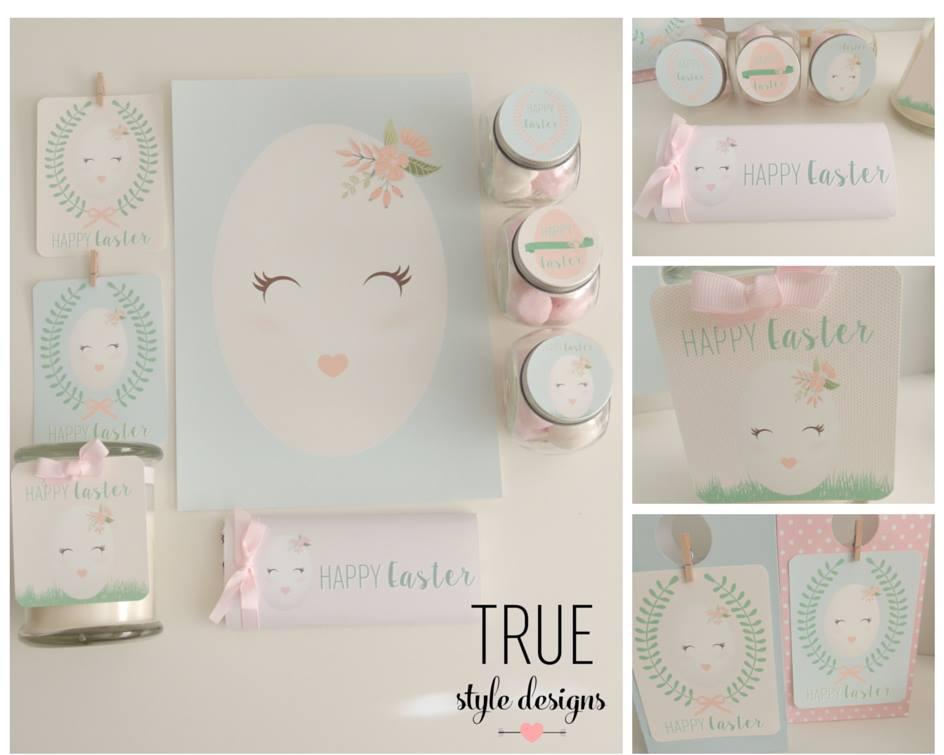 Easter printables - True Style Designs