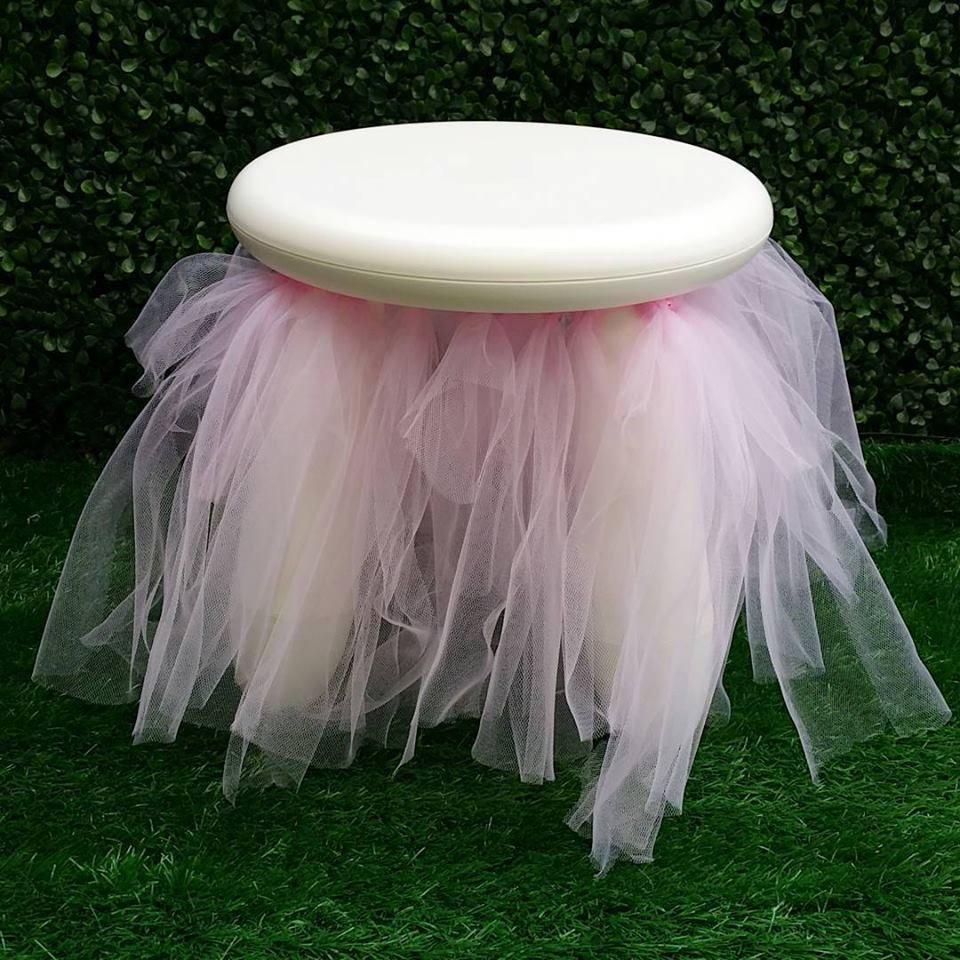 Kids party stools for hire - Two Little Jays (Melbourne)