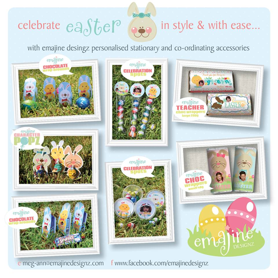 Easter printables and gift stationery - Emajine Designz