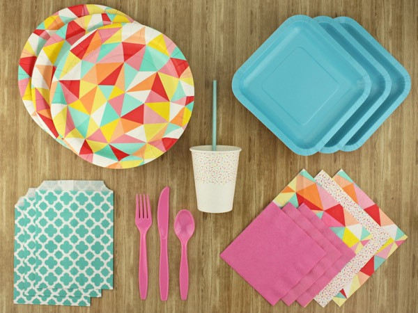 Candy coloured party kit - The Kit Source