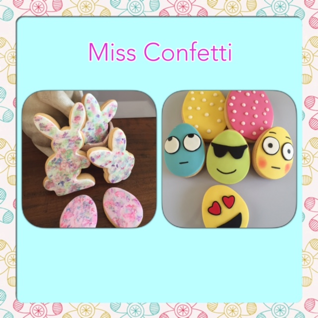 Easter cookies - Miss Confetti