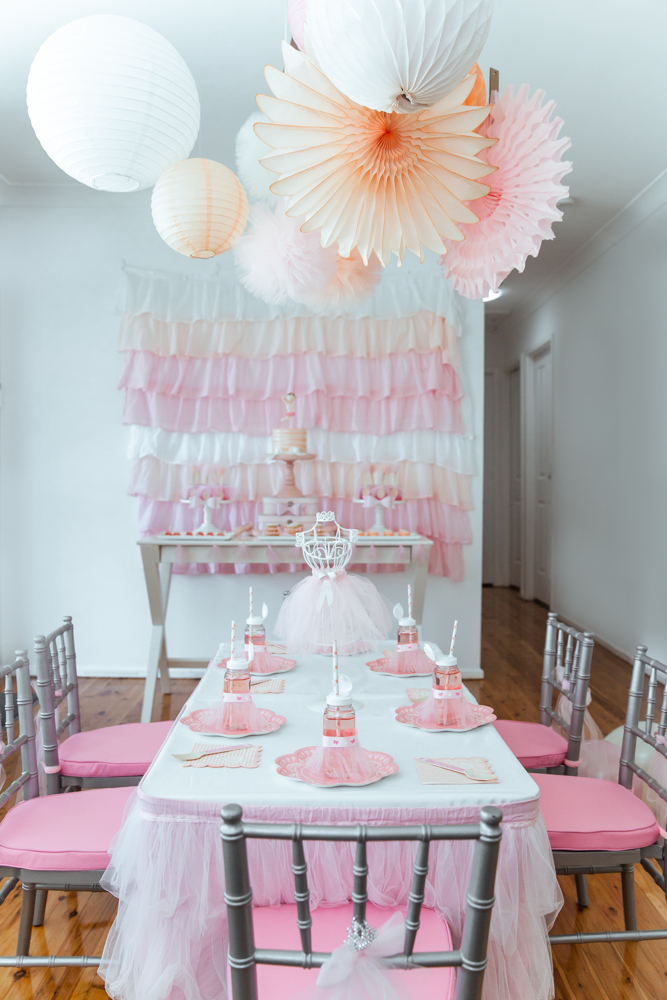 Rebekah's ballet and bows party - Life's Little Celebrations