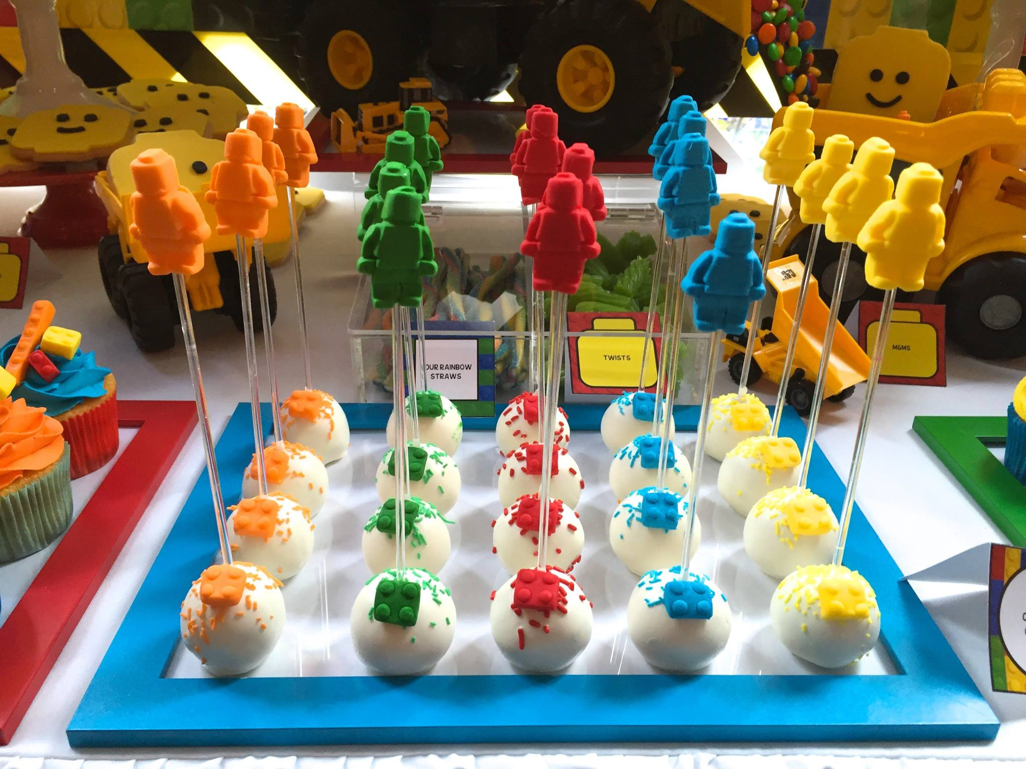 Lego cake pops - Bites By D (Perth)