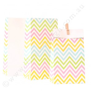 Chevron pastel favour bag - Illume Partyware