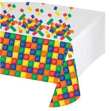 Lego party tablecloth - Fantasy Kids Parties