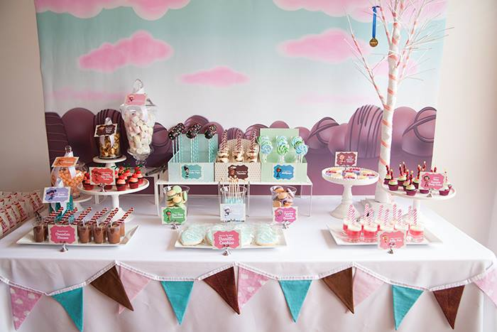 Dessert table by Imagine Event Styling
