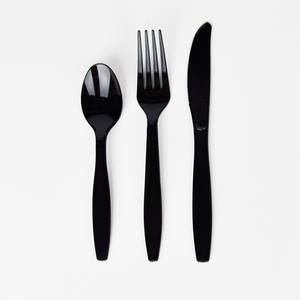 Black cutlery - Ruby Rabbit Partyware