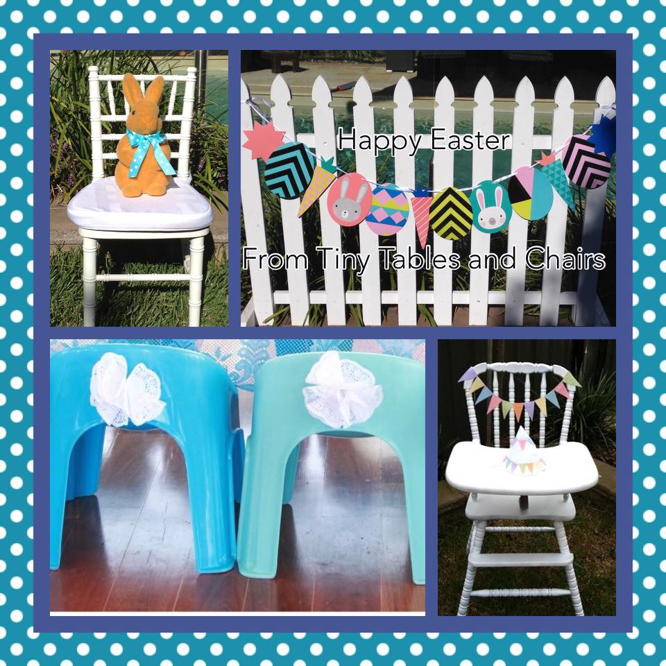 Easter table and chairs for hire - Tiny Tables and Chairs (Melbourne)