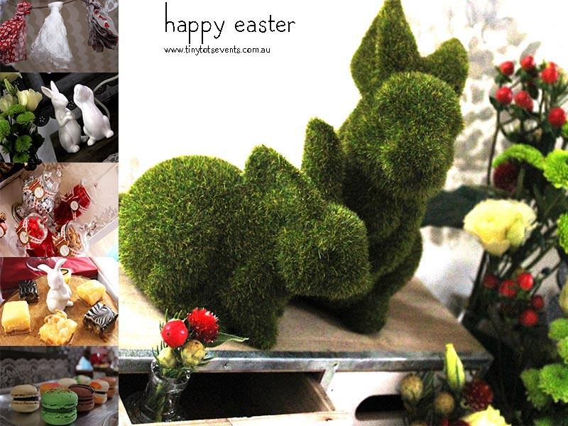 Easter styling - Tiny Tots Events (Melbourne)