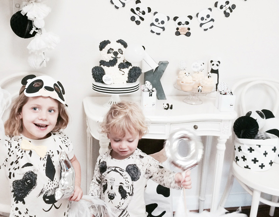 Panda party by Sugarcoated Events featured on Little Gatherer