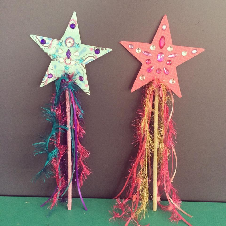 Make your own star wand party/party kit - Free Range Living