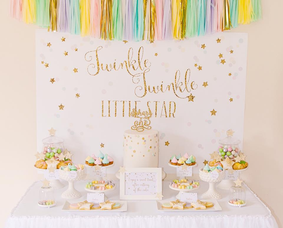 Twinkle Little Star Birthday Invitations with amazing invitations ideas