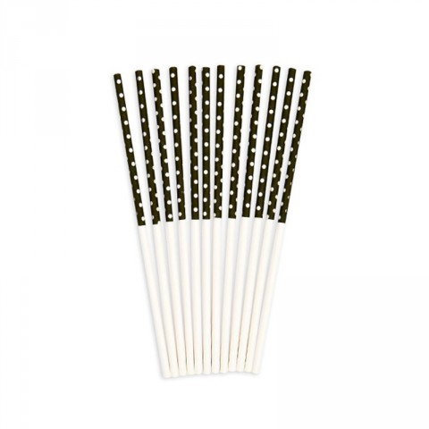 Black and white spot treat stick - Emiko Blue