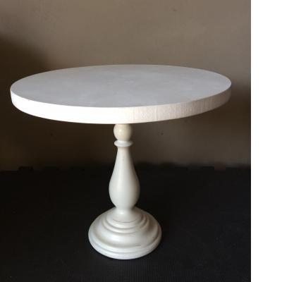 White wooden cake stand for hire - Tiny Tots Toy Hire (Sydney)
