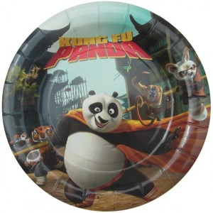 Kung Fu panda plates - Get This Party Started