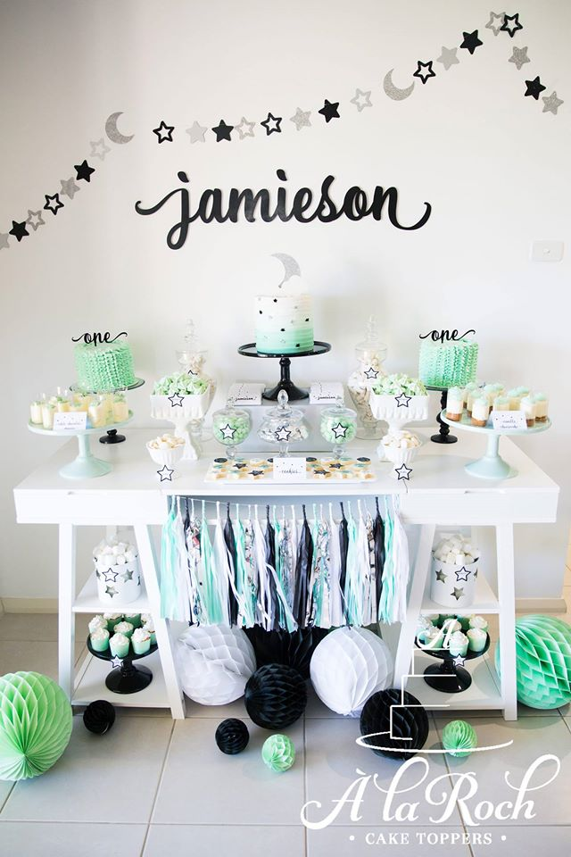 Twinkle Twinkle Little star first birthday - A La Roch (NSW)