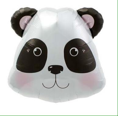 Panda head party balloon - Favor Lane