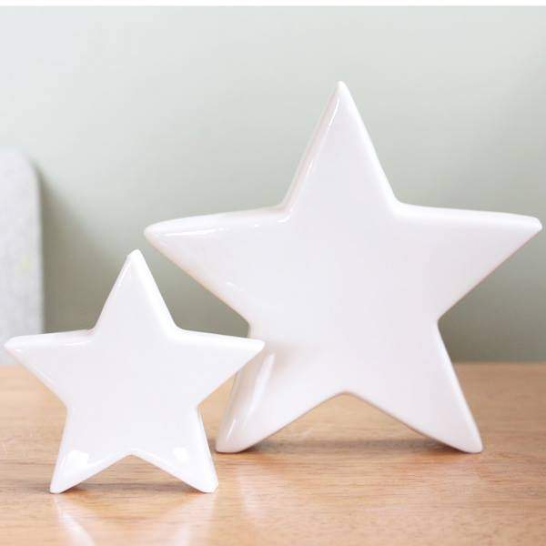 Porcelain free standing stars - Hip and Hooray