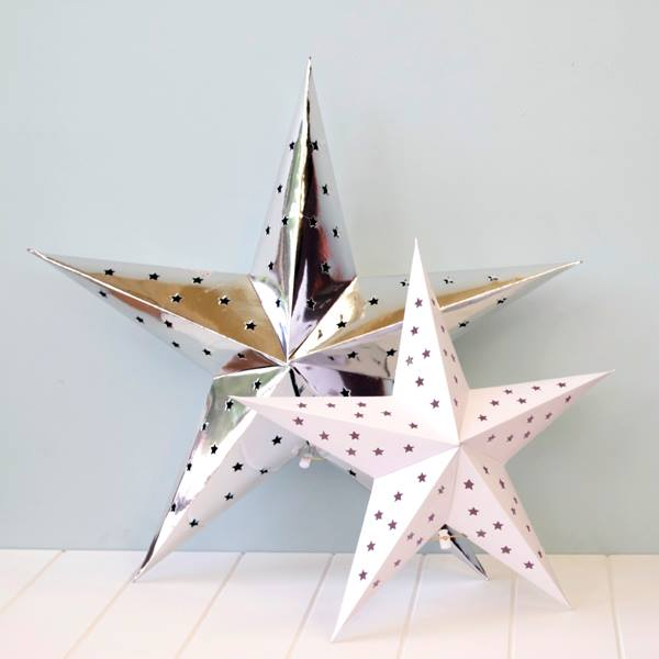 Hanging star decorations - Hip and Hooray