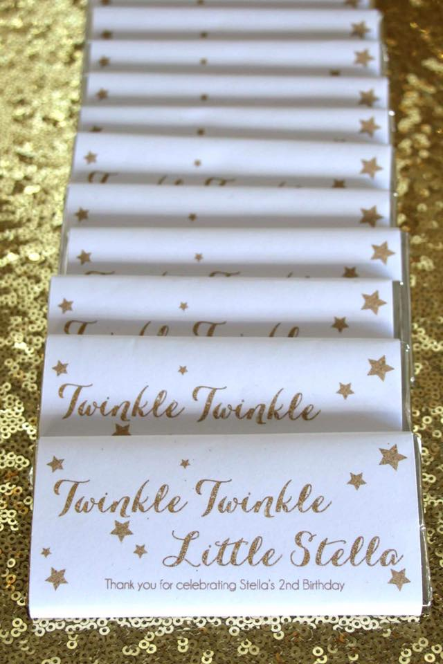 Twinkle Twinkle little star party printables - Parties and Print