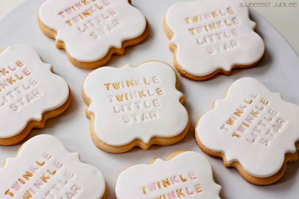 Twinkle Twinkle Little star cookies - The sweetest jubilee (Melbourne)