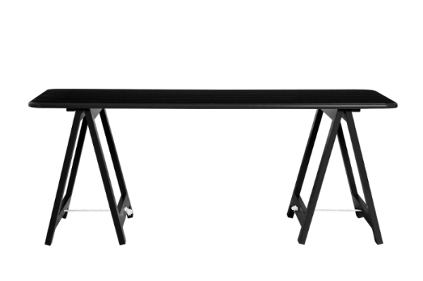 Black trestle table for hire - Sweet Heavenly Events Hire (Sydney)