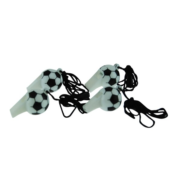 Soccer ball whistles - The Party Cupboard